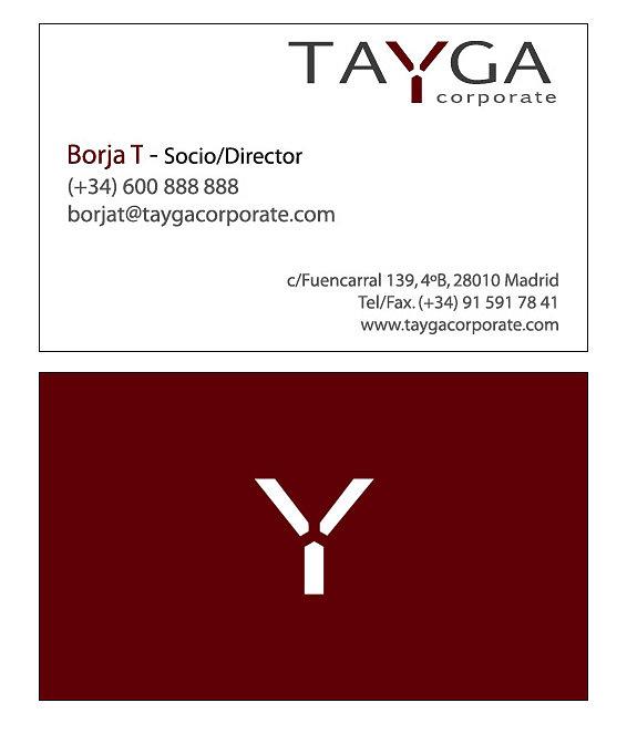 TAYGA tarjeta B CS3